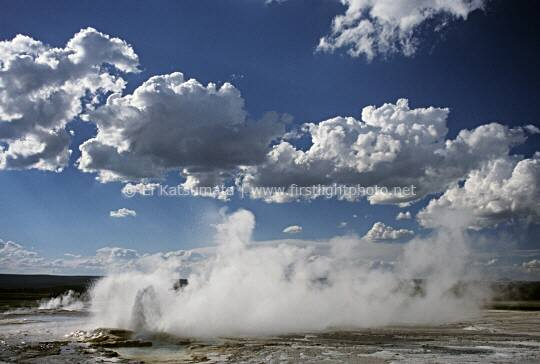 Clepsydra Geyser, Yellowstone National Park, Wyoming, United States of America