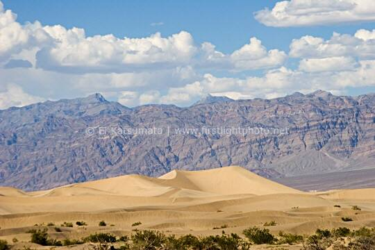 Sand dunes near Stovepipe Wells in Death Valley National Park, California, United States of America
