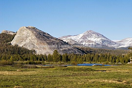 Lembert Dome and Tuolumne Meadows, Yosemite National Park, California